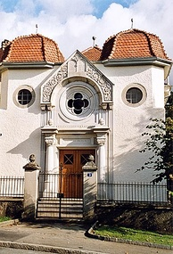 The synagogue of Delémont