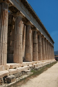 Doric colonnade facing the Agora