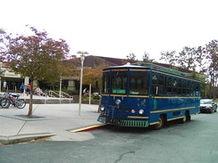 The UWF trolley system is an important mode of transportation for many students.