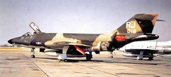 RF-101H at Richards-Gebur AFB, 1968 while Federalized for Vietnam War