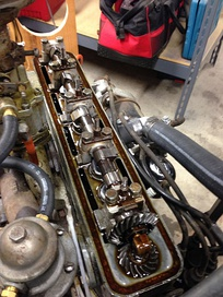 1946-1949 Crosley CoBra SOHC engine