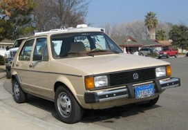 Volkswagen Rabbit manufactured at Westmoreland Assembly