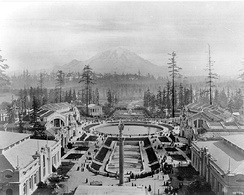 The Alaska-Yukon-Pacific Exposition had just over 3.7 million visitors during its 138-day run[40]