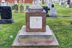 Butler's cenotaph at the Congressional Cemetery