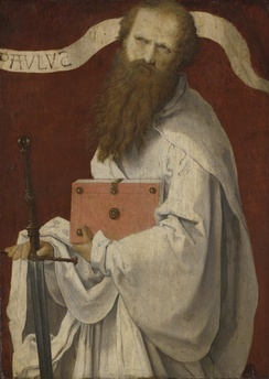 Paul the Apostle, (16th-century) attributed to Lucas van Leyden