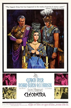 Cleopatra (1963), in which Hordern played the philosopher Cicero