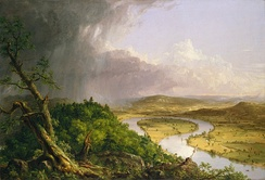 The Oxbow (1836) by Thomas Cole