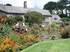 Coleton Fishacre was designed in 1925 as a holiday home in Kingswear, Devon, England, in the Arts and Crafts tradition.
