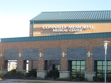 The Connally Memorial Medical Center on U.S. Highway 181 in Floresville