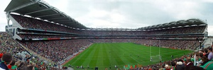 View from the Hill in Croke Park