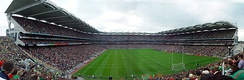 Croke Park, the largest stadium of any kind in Ireland
