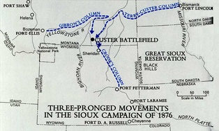 1876 Army Campaign against the Sioux