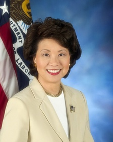 Chao's official Secretary of Labor photo