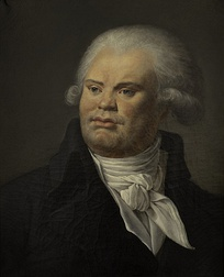 Georges Danton; Robespierre's close friend and Montagnard leader, executed 5 April 1794