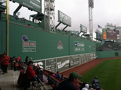 The Green Monster measures 37.167 feet (11.329 m) tall.