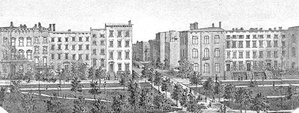 The east side of Madison Square Park (1801-c.1886)