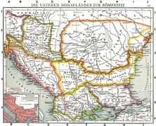 The lands of the Lower Danube in Roman times