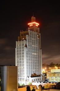 Standard Life Building, downtown Jackson