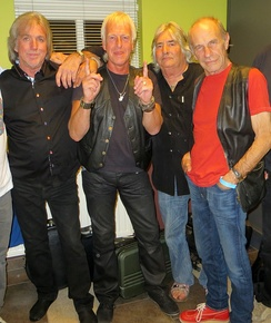 The Troggs in 2014