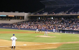 The Norfolk Tides take on the Columbus Clippers at Harbor Park