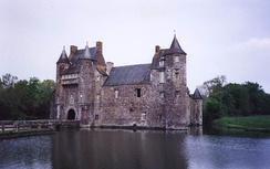Château de Trécesson, a 14th-century manor-house in Morbihan, Brittany