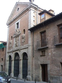 Cervantes was buried at the Convent of the Barefoot Trinitarians in Madrid.