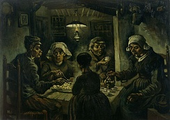 The Potato Eaters by Van Gogh, 1885 (Van Gogh Museum)