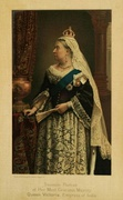An 1887 souvenir portrait of Queen Victoria as Empress of India, 30 years after the war
