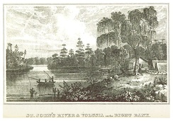 Volusia on the right bank of the St. John's River (c. 1835)