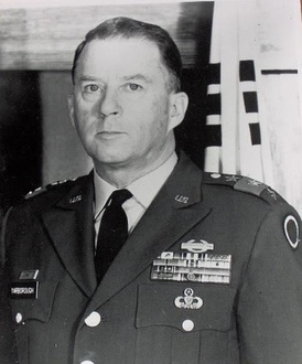 "US General William P. Yarborough was the head of a counterinsurgency team sent to Colombia in 1962 by the US Special Warfare Center. Yarborough was one of the earliest proponents of ""paramilitary [...] and/or terrorist activities against known communist proponents""[3]."