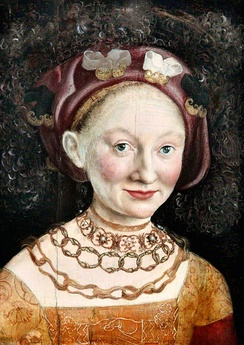Child marriages were common in history. Princess Emilia of Saxony in 1533, at age 16 married George the Pious, Margrave of Brandenburg-Ansbach, then aged 48 years.