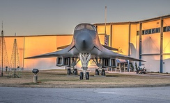 B-1B at the Museum of Aviation, Robins AFB