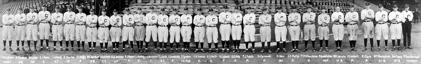 The 1920 Indians, who won the first World Series Championship in team history.