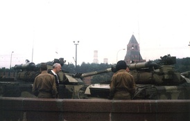 Tanks at the Red Square