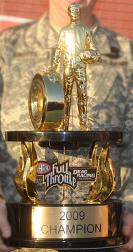 2009 Top Fuel Championship trophy