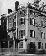 Everett lived in this house on Summer Street, Boston, 1852–1865[95]