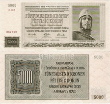 Banknotes of the Protectorate of Bohemia and Moravia, 1939–1945