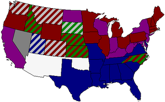 Senate composition by State, 55th Congress