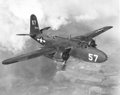Douglas A-20 as flown by the squadron in the MTO