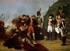 Surrender of Madrid (Gros), 1808. Napoleon enters Spain's capital during the Peninsular War.