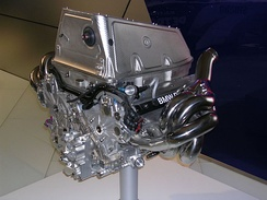 A BMW Sauber P86 V8 engine, which powered their 2006 F1.06