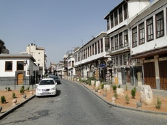 The Biblical Street called Straight of Damascus