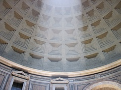 Beam in the dome of the Pantheon.jpg