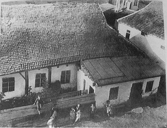Synagogue of the Baal Shem Tov, founder of Hasidism, in Medzhybizh Ukraine. It gave a new phase to Jewish mysticism, seeking its popularisation through internal correspondence