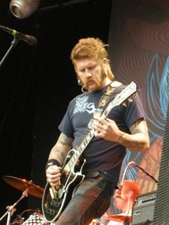 Bill Kelliher live at Sonisphere Festival in 2009