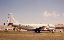 Spanish Boeing KC-97L Stratofreighter at Albacete (1985)