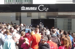 Museum in Funchal dedicated to Cristiano Ronaldo, born in the city in 1985