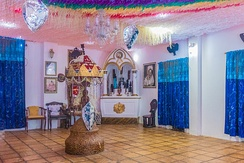 A temple of Afro-Brazilian religious expression in Salvador.