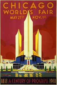 Poster for Chicago World's Fair (1933)