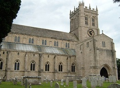 Christchurch Priory dates from the 11th century